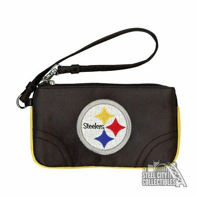 Pittsburgh Steelers Embroidered Wristlet