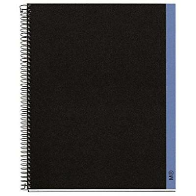 Miquelrius Hemisphere Subject Spiral Bound Notebook 8.5 11 4 Subject Gift New