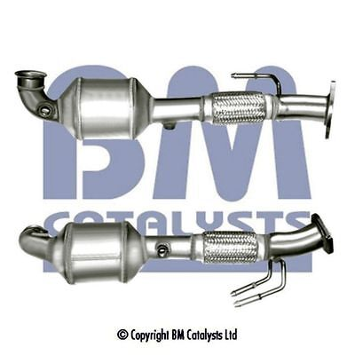 BM Exhaust Exhaust Catalytic Converter BM80577H Fits Ford (Inc Fitting Kit)