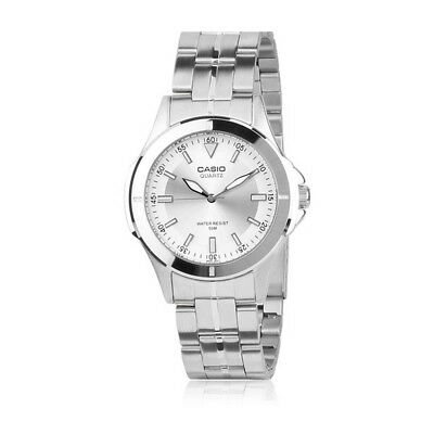 Casio MTP1214A-7A Mens Stainless Steel 50M Dress Watch Silver Dial