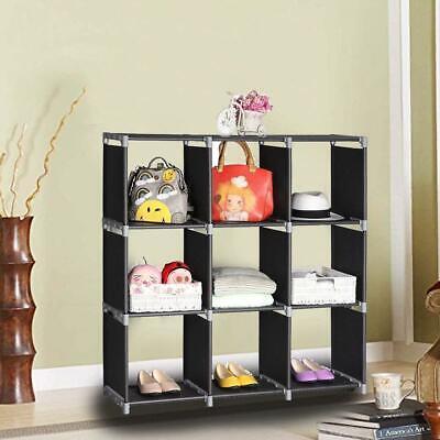 9-Cube Organizer Shelf Closet Cloth Bookcase Storage Modular