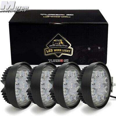 Led Work Light Lamp 27w 4 Fog Lamps For Allis Chalmers Tractor D12 D15 D17 160