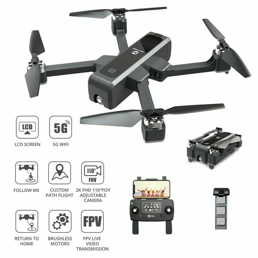 Holy Stone HS550 GPS RC Drone with HD Camera 2K Foldable 5G Brushless Quadcopter