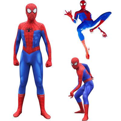 Spider-Verse Peter Benjamin Parker Cosplay Halloween Costume (Peter Parker Kostüm Halloween)