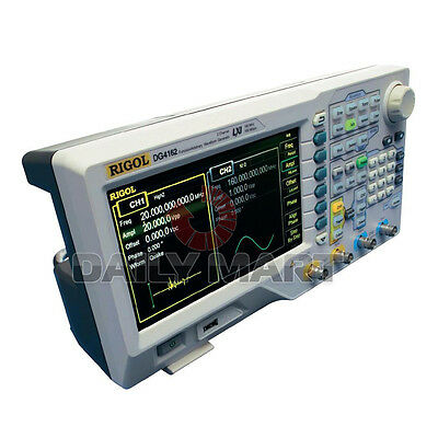 New Rigol Dg4162 160 Mhz Arbitrary Waveform Generator 2 Output Channel 7inch Lcd