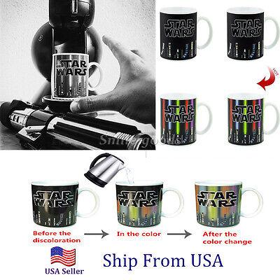 New Star Wars Lightsaber Design Temperature Color Change Ceramic Cup Mug