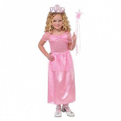 Mädchen Hübsch Rosa Prinzessin Verkleidung Kostüm Alter 4-6 Buch Woche