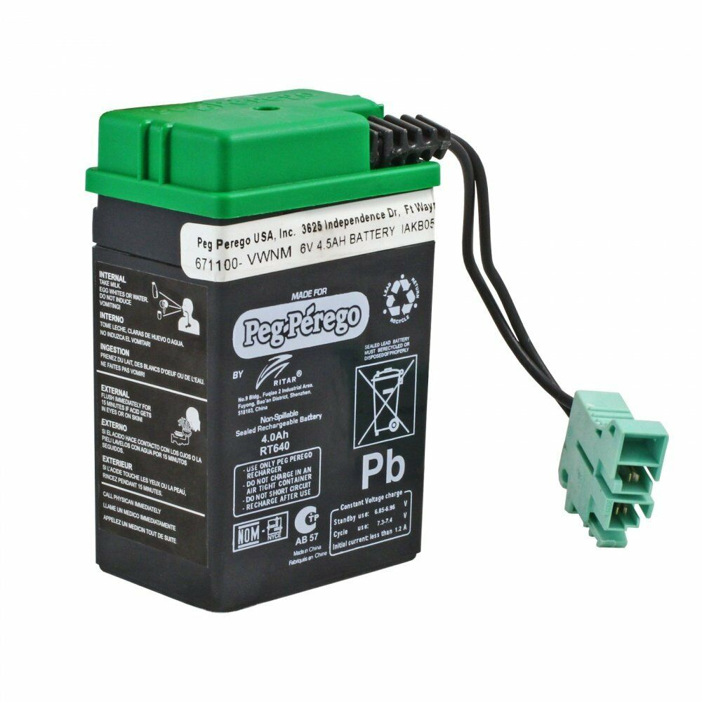 Mighty Max 10 Pack 6V 4.5AH New Battery for Hubbell 0120255 or Dual-Lite 12-25