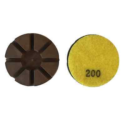 3 200 Grit Metal Bond Diamond Polishing Pad For Concrete Floor 3pcs