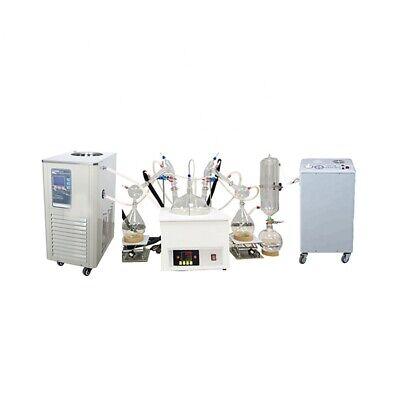 10 Liter Vacuum Short Path Distillation With Chiller-20 - 99cvacuum Pump