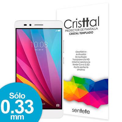 Sentete® Huawei Honor 5X Protector de Pantalla de Cristal Templado PREMIUM