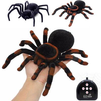 Remote Control Spider Scary Prank Realistic Tarantula Creepy Simulation Kids Toy