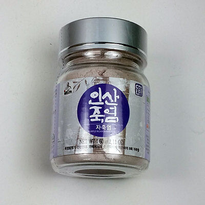 Insan bamboo salt 60g/2.11oz powder 9 times roast Ultimate made in korea