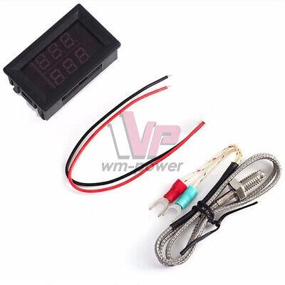 Digital Led K-type Sensor Thermometer Thermocouples Temperature Probe Tester
