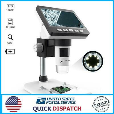 Mustool G700 4.3 Inches Hd 1080p Portable Desktop Lcd Digital Microscope 10 8