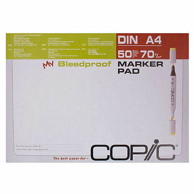 Copic Bleedproof A4 Marker Pad - 50 Sheets