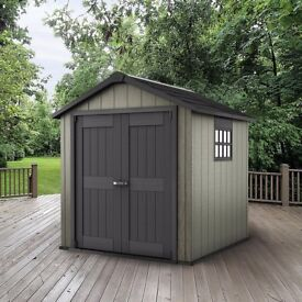 Garden Sheds Gumtree keter oakland garden shed 759 (2.87m x 2.29m) cheapest in uk