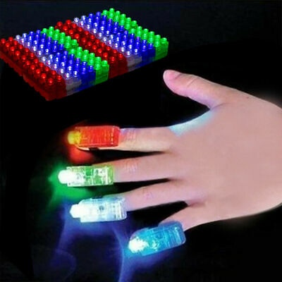 Light Up Toy (80 LED Finger Lights Bright Party Favors Party Supplies Light up)