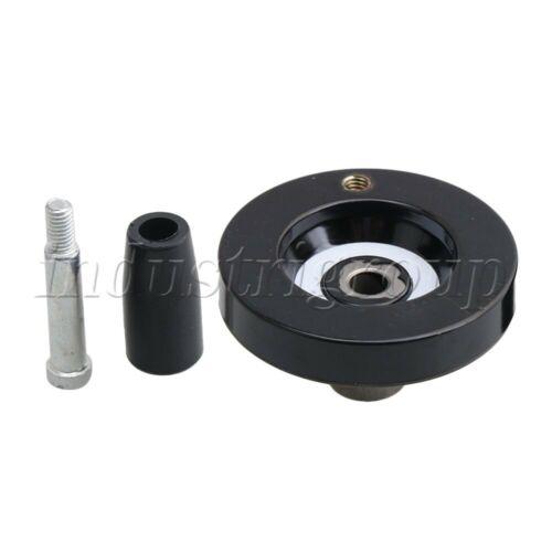 6.3x0.8cm M5 Lead Screw Rod Hand Wheel Industrial Machine Tools
