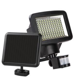 120 LED Solar Sensor Light Garden Flood Outdoor Security Light