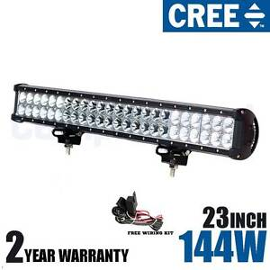 "23"" Cree 144w LED Lightbar (+ wiring kit) light bar 4x4 truck Wangara Wanneroo Area Preview"