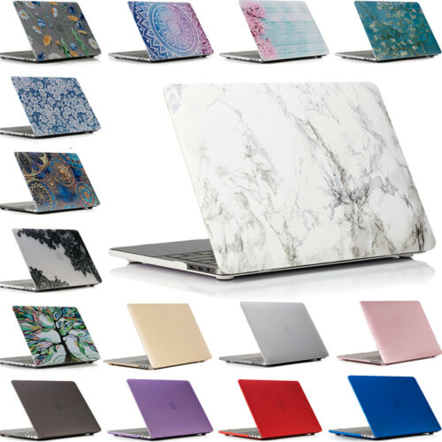 For MacBook Pro 13 inch Case 2019 2018 2017 Touch Bar A1989 A1706 & A1708 Cover