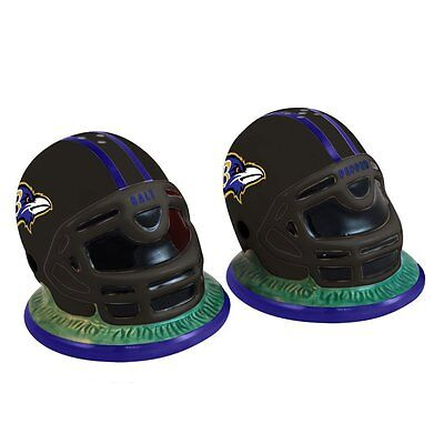 BALTIMORE RAVENS SALT & PEPPER---HELMET SHAPE Baltimore Ravens Salt