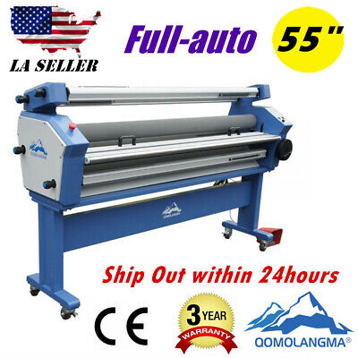 Usa Upgraded 55 Entry Level Full-auto Heat Assisted Wide Format Cold Laminator