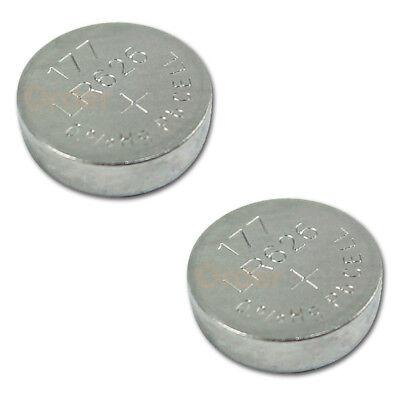2 PACK Battery Button Watch 1.5V 376 377 SR626 SR626W SR626SW Authorized Seller