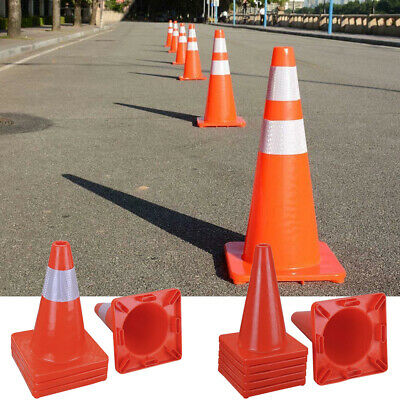 17 28 36 Pvc Road Traffic Cones Emergency Parking School Sports Overlap Cone