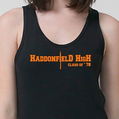 Scary Movie Haddonfield High Halloween Friday the 13th Horror Adult Tank Top
