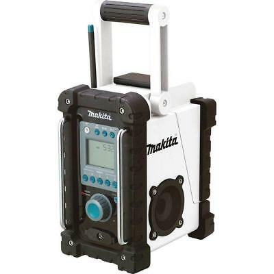 Makita XRM02W 18V Compact Lithium-Ion Cordless Job Site Radio W/FACTORY WARRANTY