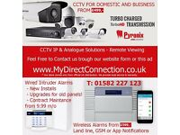 CCTV Installs & Remote Viewing - Intruder & Fire Alarms - Luton, Milton, Hemel, Watford, Bedford