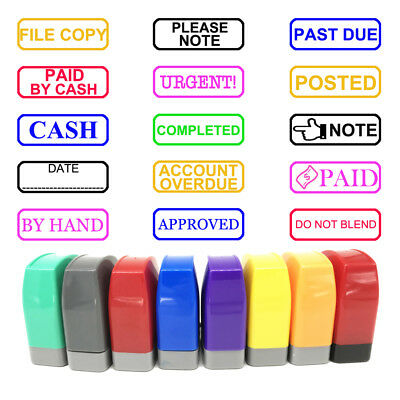 Custom Office Stamps Business School Company Account Pre Self Ink Word -
