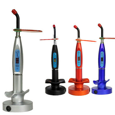 Dental 5w Wireless Cordless Led Cure Curing Light Lamp Machine 1500mw Whitening