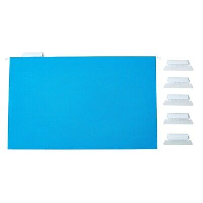 Staples Hanging File Folders 5-Tab Legal Size Assorted Colors 25/BX 345001](Legal Size File Folders)