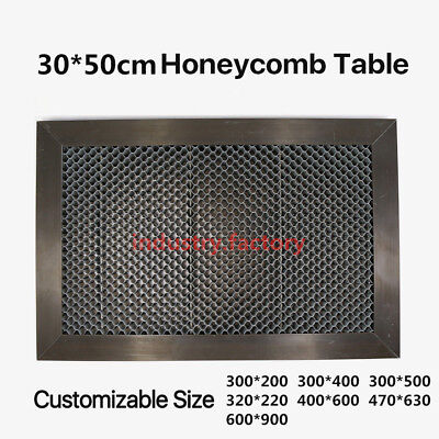 Honeycomb Working Table Platform 300500mm Co2 Laser Engraving Machine 12x20