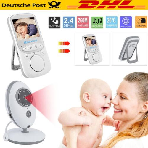Baby Video Audio Monitor drahtlos Babyphone mit Kamera Babyviewer Nachtsicht DE
