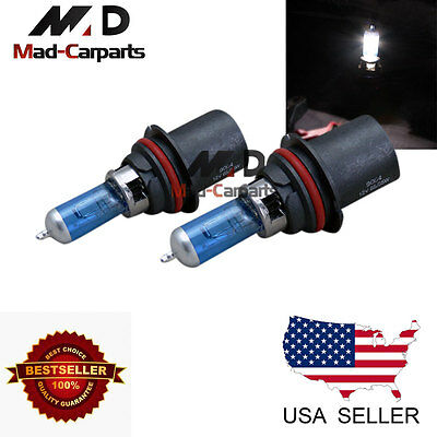 55w Halogen Replacement Bulb - 9004 55w Halogen Xenon Headlight Replacement 2x Light Bulb Lamp 6000K White
