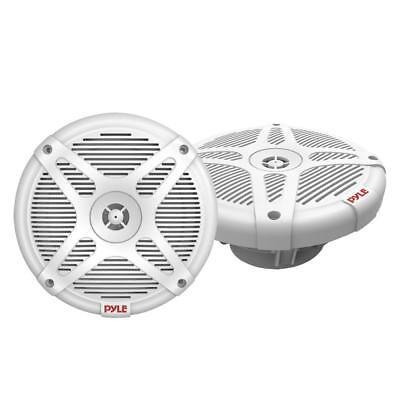 6.5 Inch Marine Speakers  - 2-Way IP-X4 Waterproof and Weath