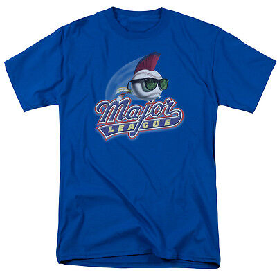 Wild Thing Major League (Major League Movie TITLE Logo Wild Thing Licensed Adult T-Shirt All Sizes)