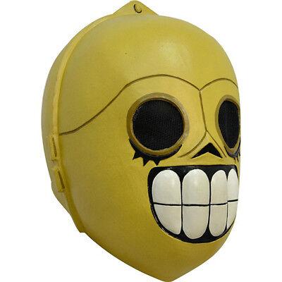 Adult Calaveritas Droide C-3PO Costume Mask (C3po Mask)