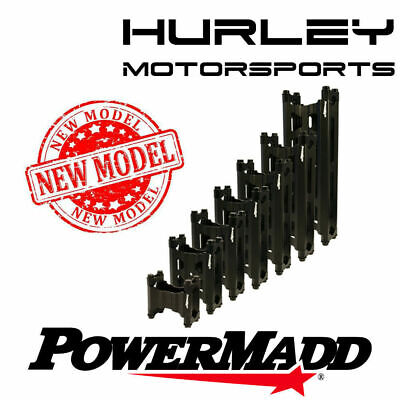 "PowerMadd  Pivot Style Riser Bar Block w/ Bolts and Clamps - 4.25"" x 8"" - 45880"