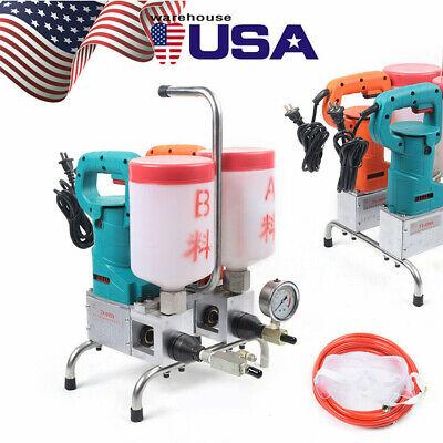1500w Electric Epoxy Injection Pump Grouting Steel Machine 10kpai Leak Stoppage