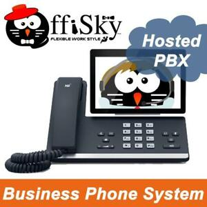 Hosted PBX Business Phone System With Collaboration (Minute / Monthly Plan Available)