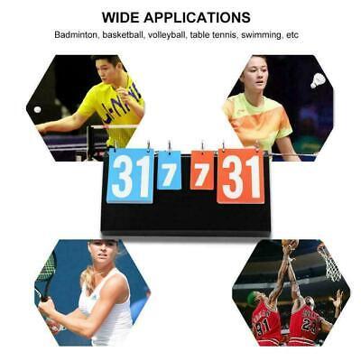 Table Tennis Basketball Badminton Sports Competition Score Board Scoreboard ()