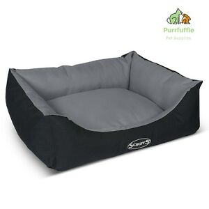 X-LARGE Scruffs Expedition Water Resistant Pet Dog Box Bed Graphite HEAVY DUTY