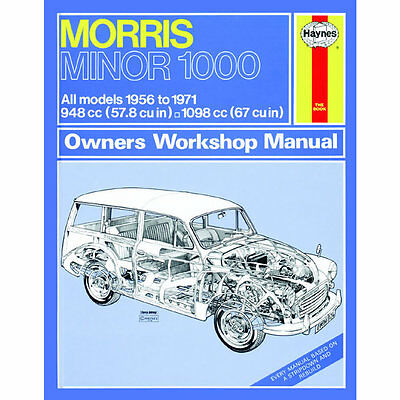 Morris Minor 1000 1.0 1.1 Petrol 56-71 (up to K Reg) Haynes Manual
