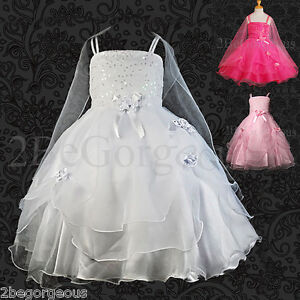 Wedding-Flower-Girl-Bridesmaid-Party-Communion-Occasion-Dresses-Age-2-9-Year-008