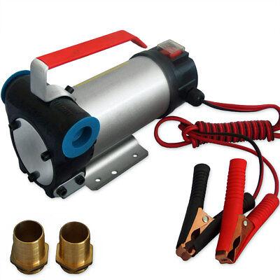 Dieselpumpe Ölabsaugpumpe Ölpumpe 12V Heizölpumpe Kraftstoffpumpe Pumpe 2400l/h